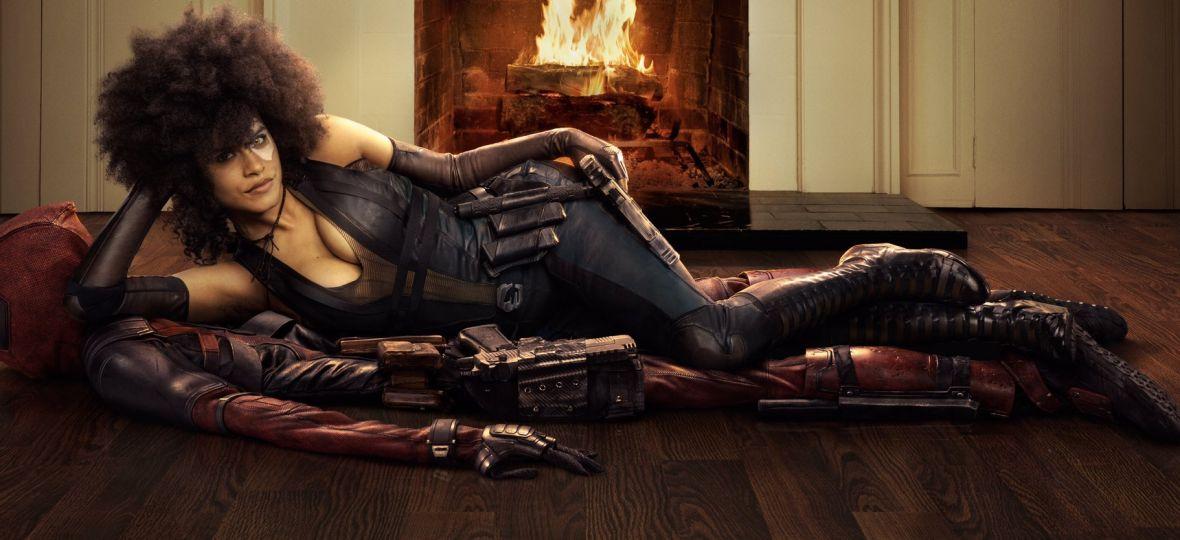 Domino z Deadpool 2 wygląda zjawiskowo. Zatwardziałym fanom nie podoba siękolor aktorki