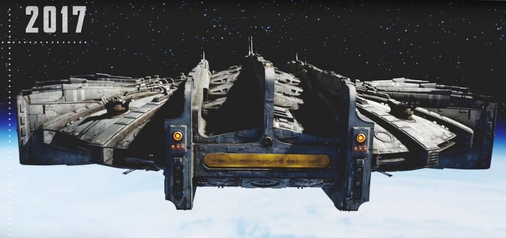 Hmm... chyba już gdzieś widziałem podobny statek...