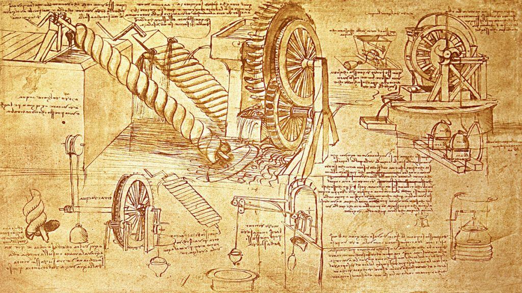 Projekty wynalazków Leonarda da Vinci
