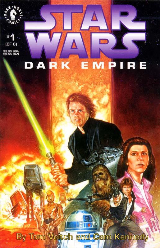 dark empire Luke Skywalker