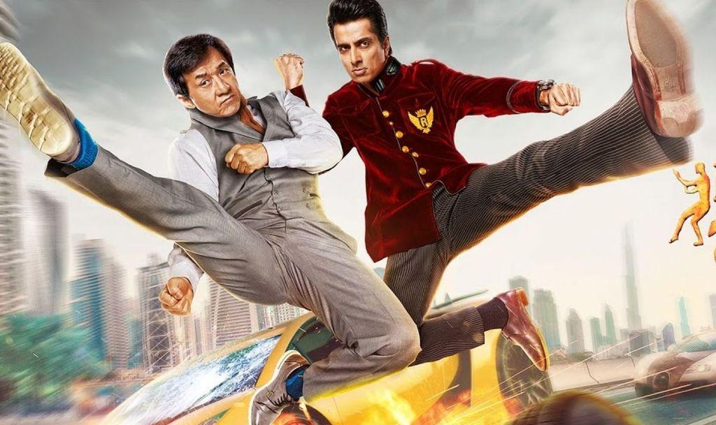 Jackie Chan na starość niszczy swoją karierę na plakacie filmu Kung Fu Yoga