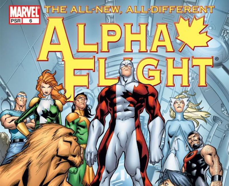 marvel alpha flight