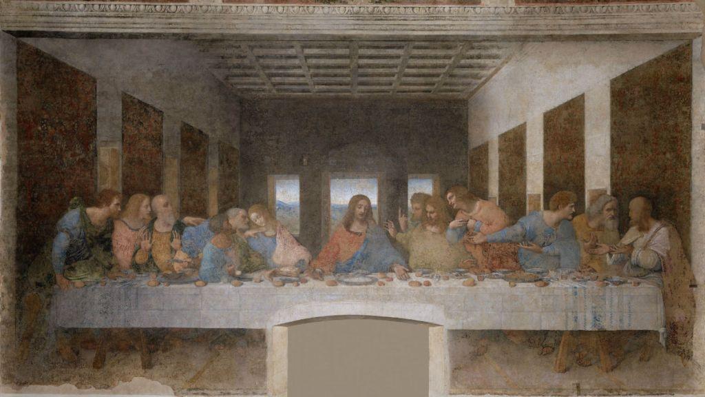 Jedno z największych arcydzieł w historii sztuki - Ostatnia wieczerza autorstwa Leonardo da Vinci
