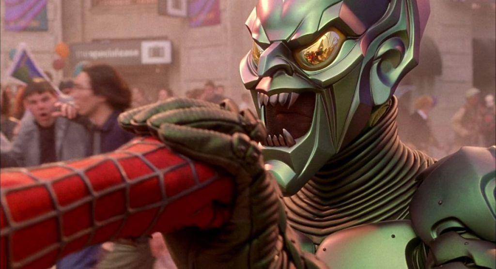 spider man green goblin