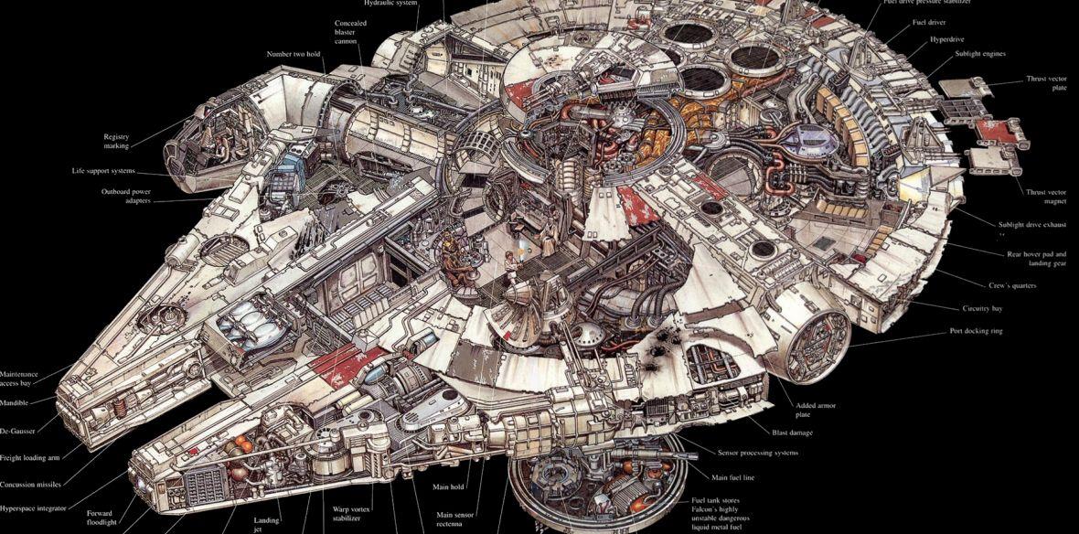 Sokół Millenium nie zawsze wyglądał tak, jak w Nowej Nadziei. Wiemy, jak będzie prezentować się statek w Star Wars: Han Solo