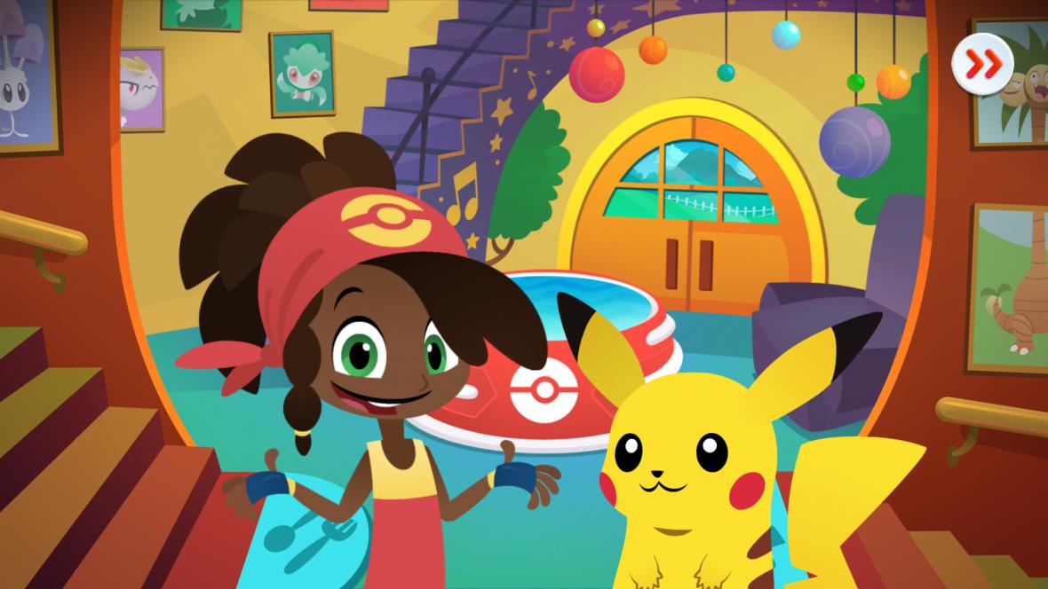 Pokemon Playhouse to darmowa gra na Androida i iOS. Aplikacja dla dzieci od 3 do 5 lat