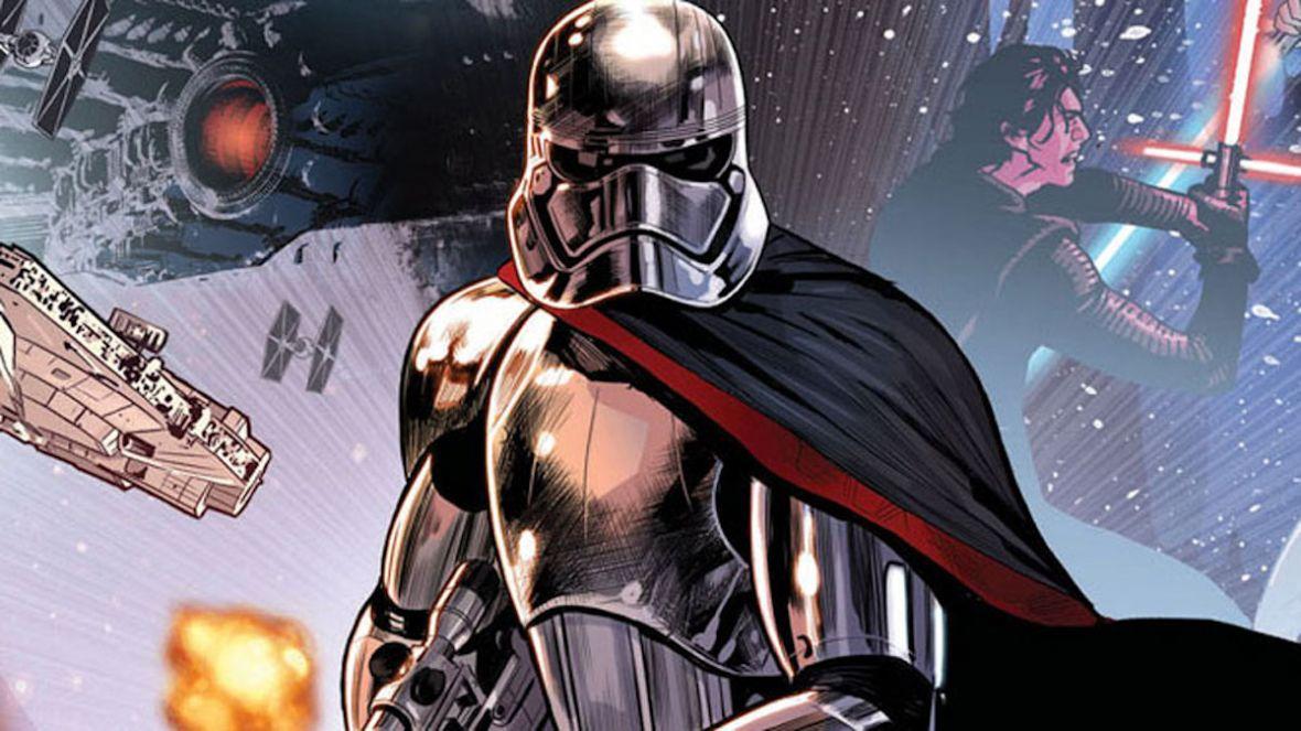 Star Wars: Captain Phasma – Marvel odważył się wydać pierwszy komiks po wydarzeniach z Przebudzenia Mocy