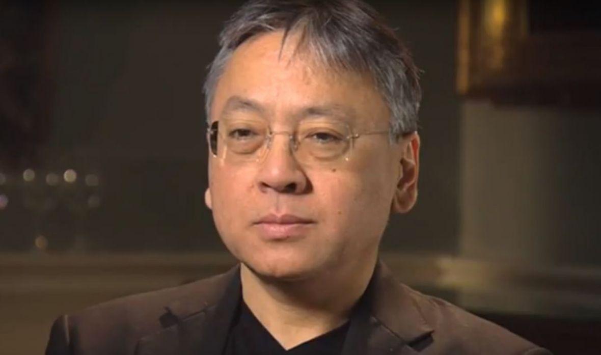 Kazuo Ishiguro został laureatem literackiej Nagrody Nobla