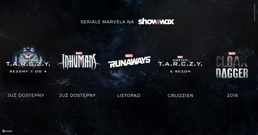 Marvel Showmax seriale