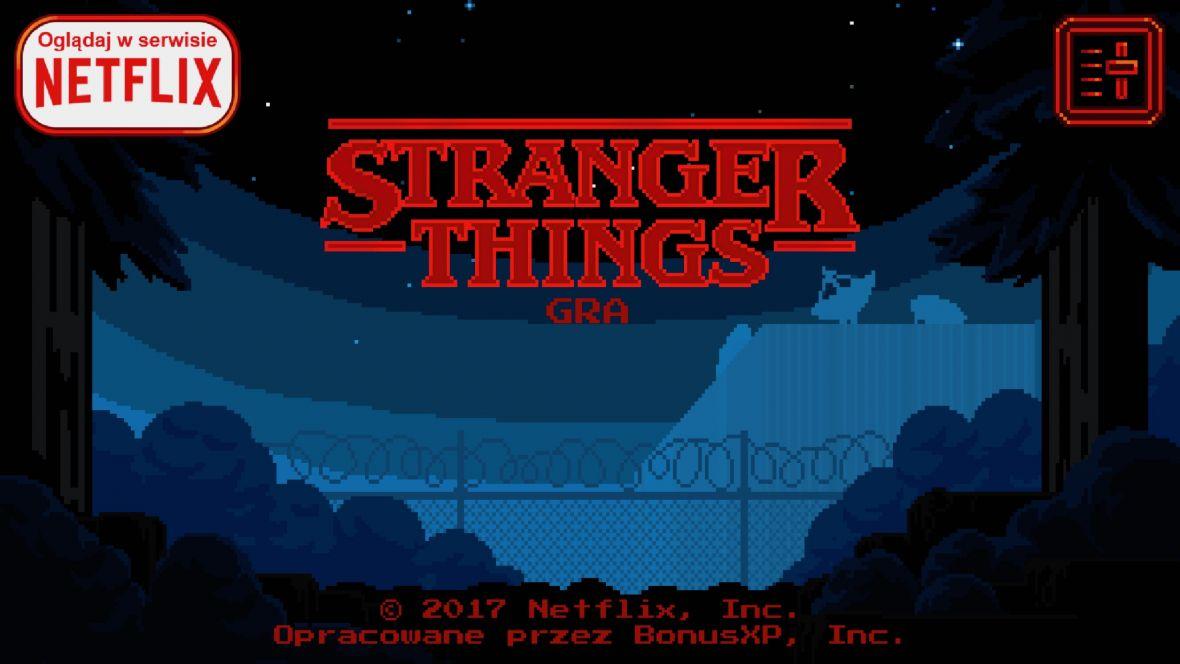 Właśnie pojawiła się oficjalna gra Stranger Things. I to po polsku!