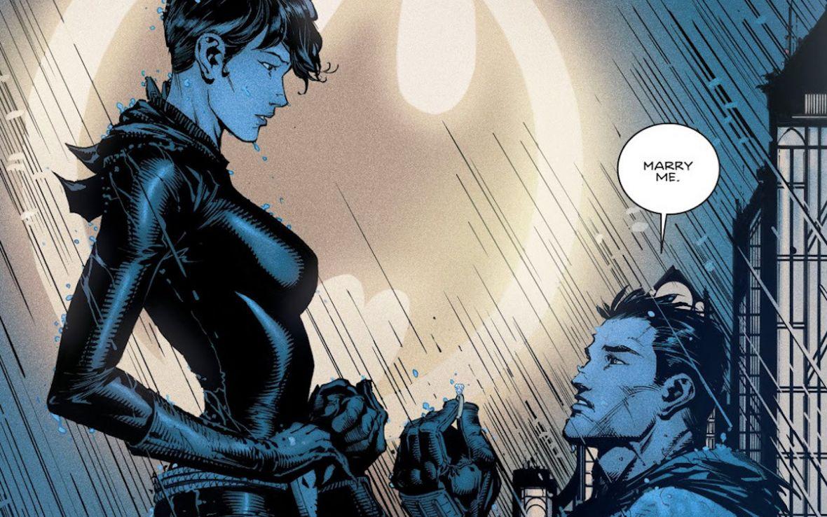 Oświadczyny Batmana niczym brazylijska telenowela. Na odpowiedź Catwoman czekaliśmy 4 miesiące