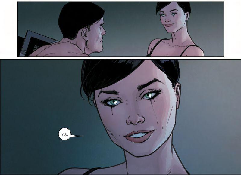 batman catwoman oświadczyny