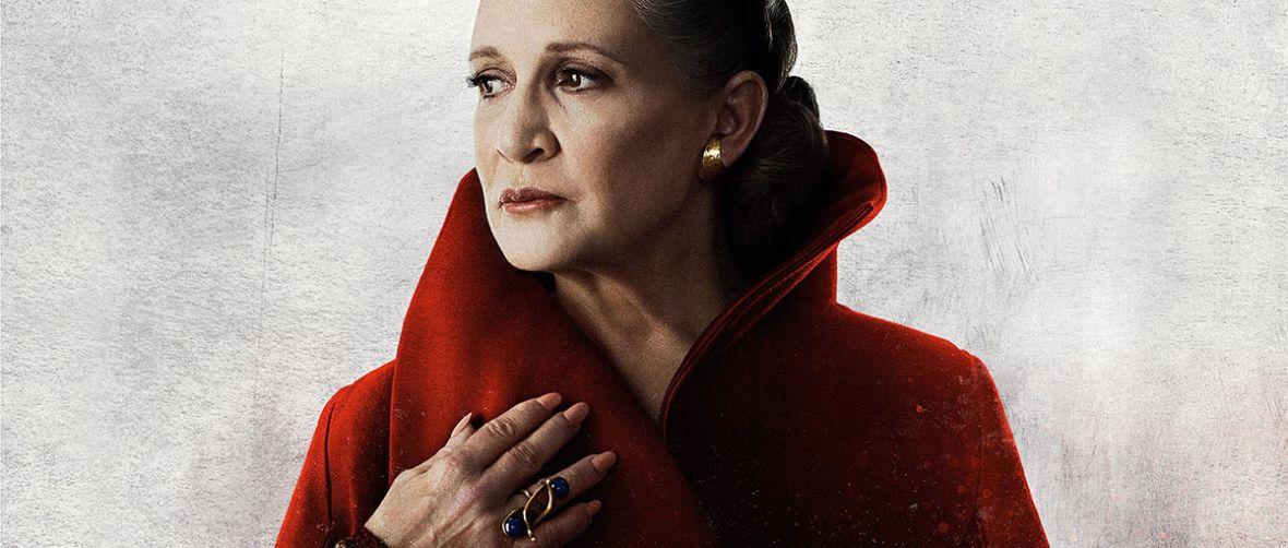 Ostatni Jedi okazał się dla Carrie Fisher czymś więcej niż tylko aktorskim występem