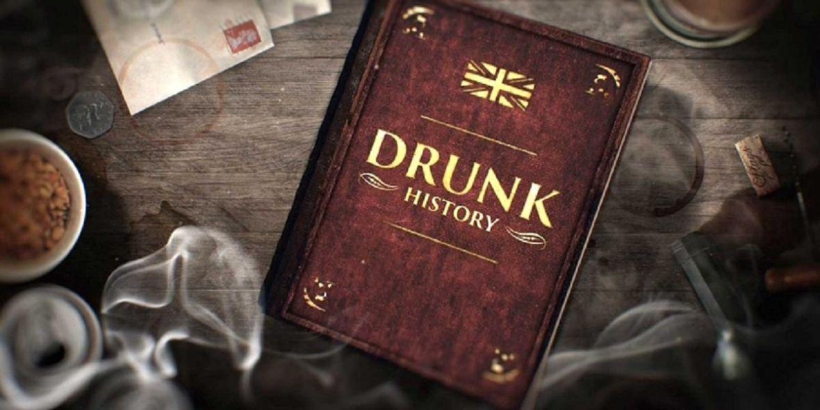 Drunk History na szczęście nie jest taką imprezą, na której wszyscy są pijani, a ty trzeźwy