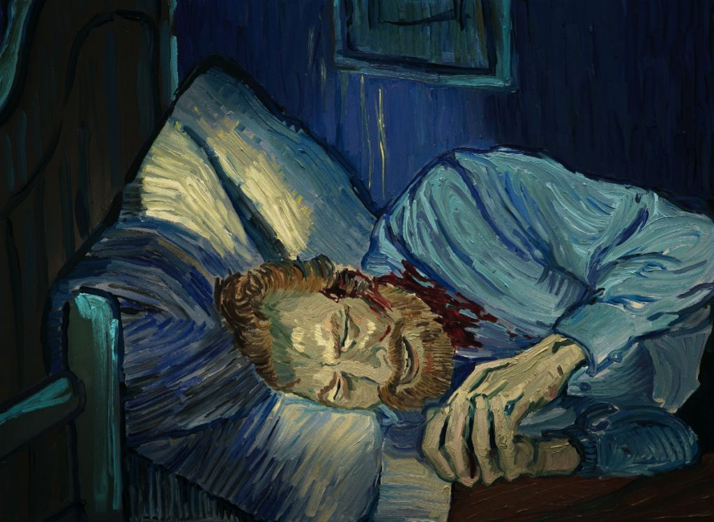 Vincent van Gogh tuż po odcięciu sobie ucha