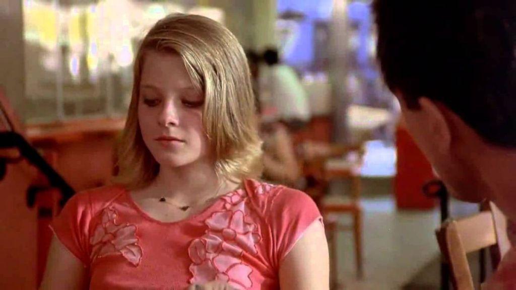 Młoda Jodie Foster w filmie Taksówkarz