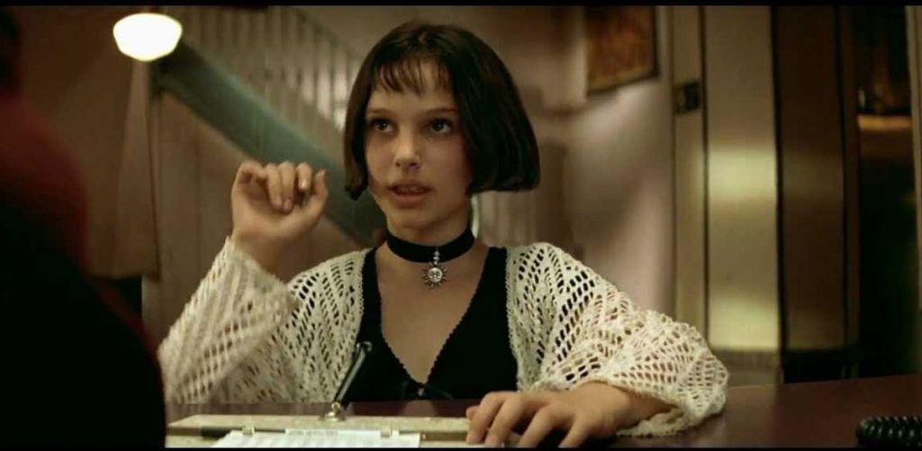 Młoda Natalie Portman w filmie Leon Zawodowiec