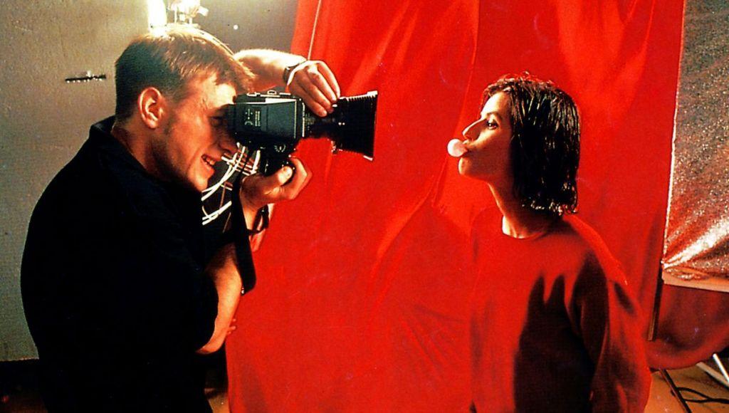 Kadr z filmu Trzy kolory: Czerwony