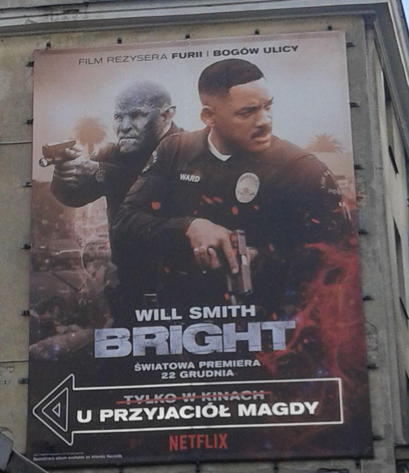 bright plakat