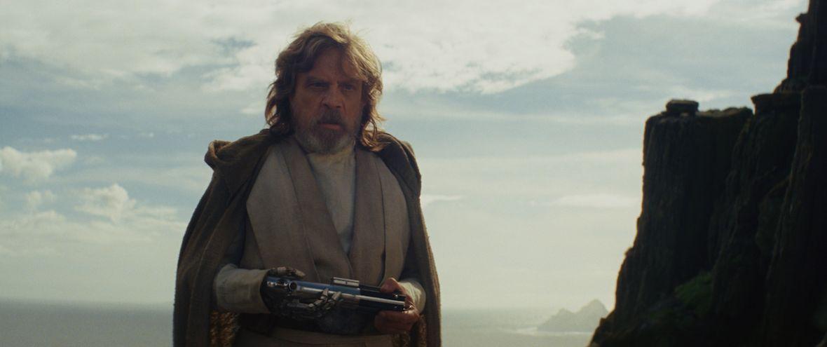 Jak wyglądało spotkanie Luke'a i Rey w The Last Jedi?