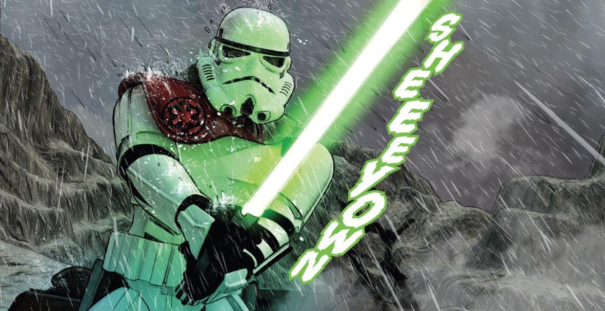 Nareszcie dobry komiks z Gwiezdnych wojen. Star Wars – The Last Jedi – The Storms of Crait świetnie łączy trylogie