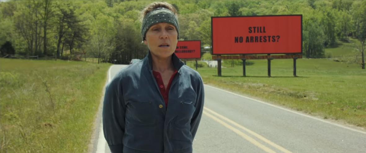 Trzy billboardy za Ebbing, Missouri – recenzja najpoważniejszego kandydata do Oscarów