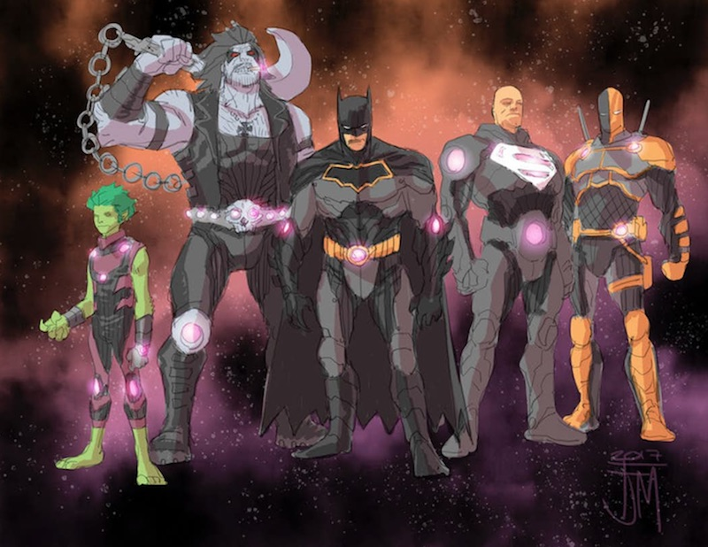 liga sprawiedliwości justice league no justice 2 team entropy