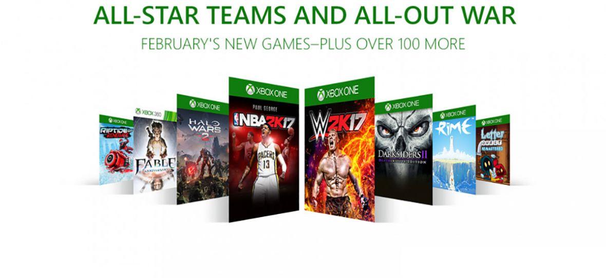 8 nowych powodów, dla których warto kupić Xbox Game Pass. Wśród nich NBA 2K17 i Halo Wars 2