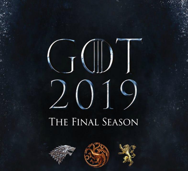 Gra o tron 8 sezon plakat