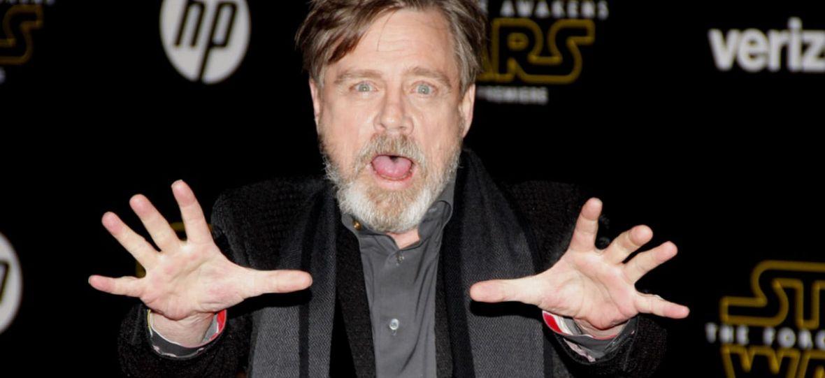 Luke Skywalker powiedział coś po polsku, bez dubbingu. A właściwie, to Mark Hamill