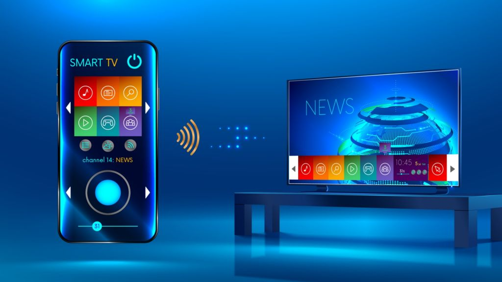 smartfon jako pilot do telewizora i komputera