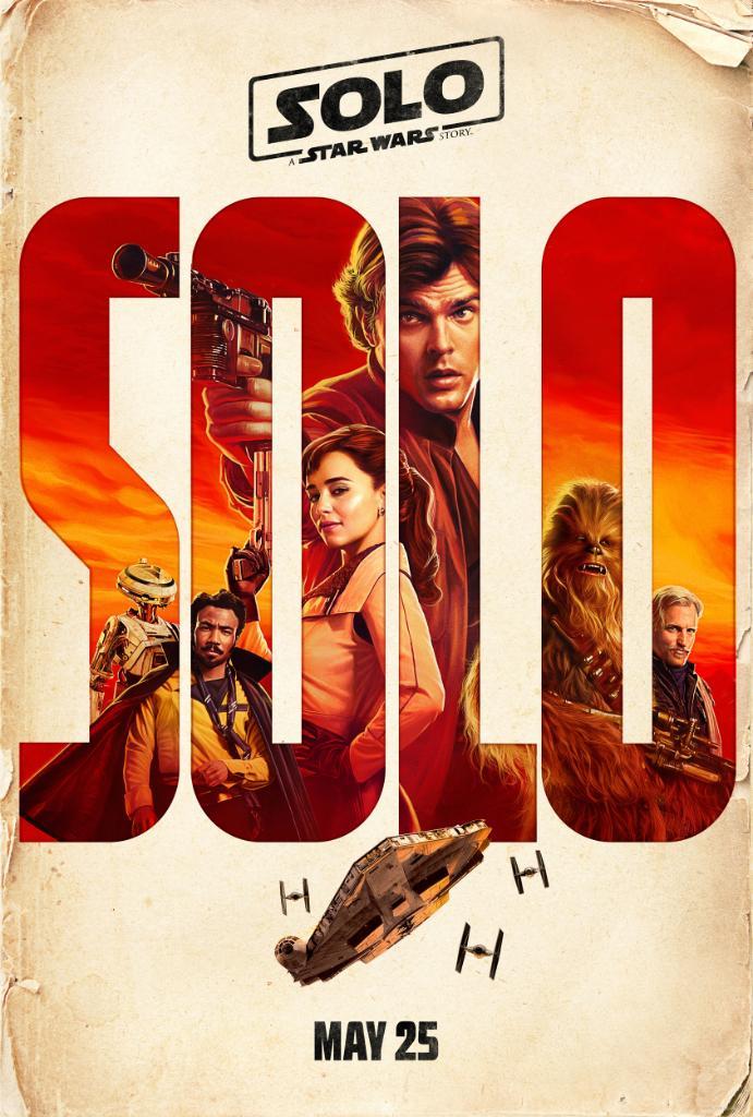 Han Solo: Gwiezdne wojny - historie plakat