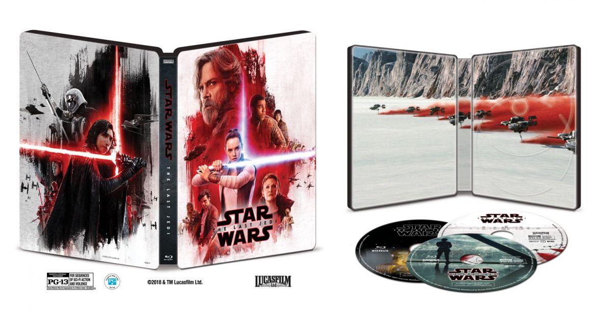 The Last Jedi na Blu-ray i w VOD. Znamy zawartość wydania i datę premiery