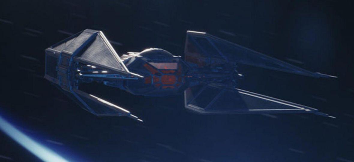 W trakcie produkcji Ostatniego Jedi musieli zmienić wygląd myśliwca Kylo Rena. Powód? Plastikowa zabawka