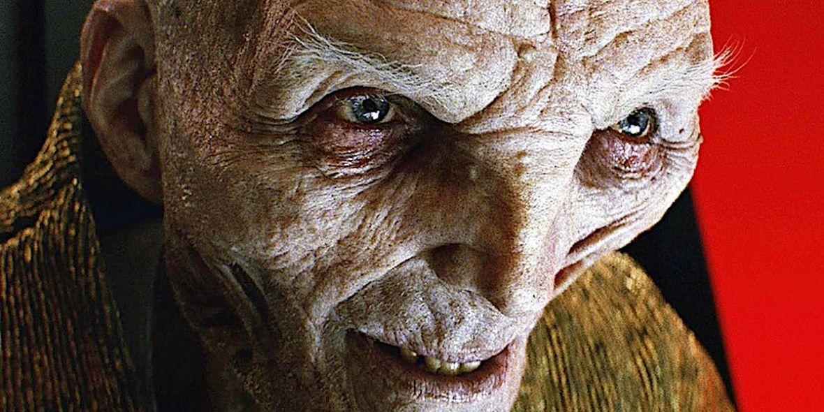 Książka Star Wars: The Last Jedi zdradzi więcej informacji na temat Snoke'a. Coś już jednak wiemy