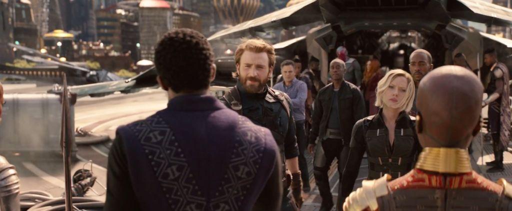 avengers wojna bez granic trailer 2 nowe sceny 7
