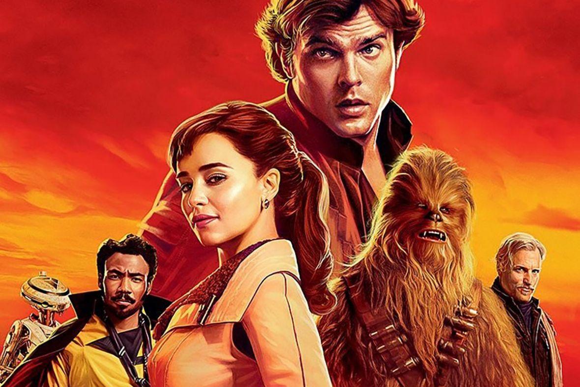 Han I Lando Na Plakatach Do Han Solo Gwiezdne Wojny Historie