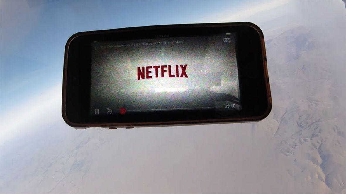 Netflix dostępny w kosmosie. Pech chciał, że ten pomysł na reklamę ktoś już wykorzystał