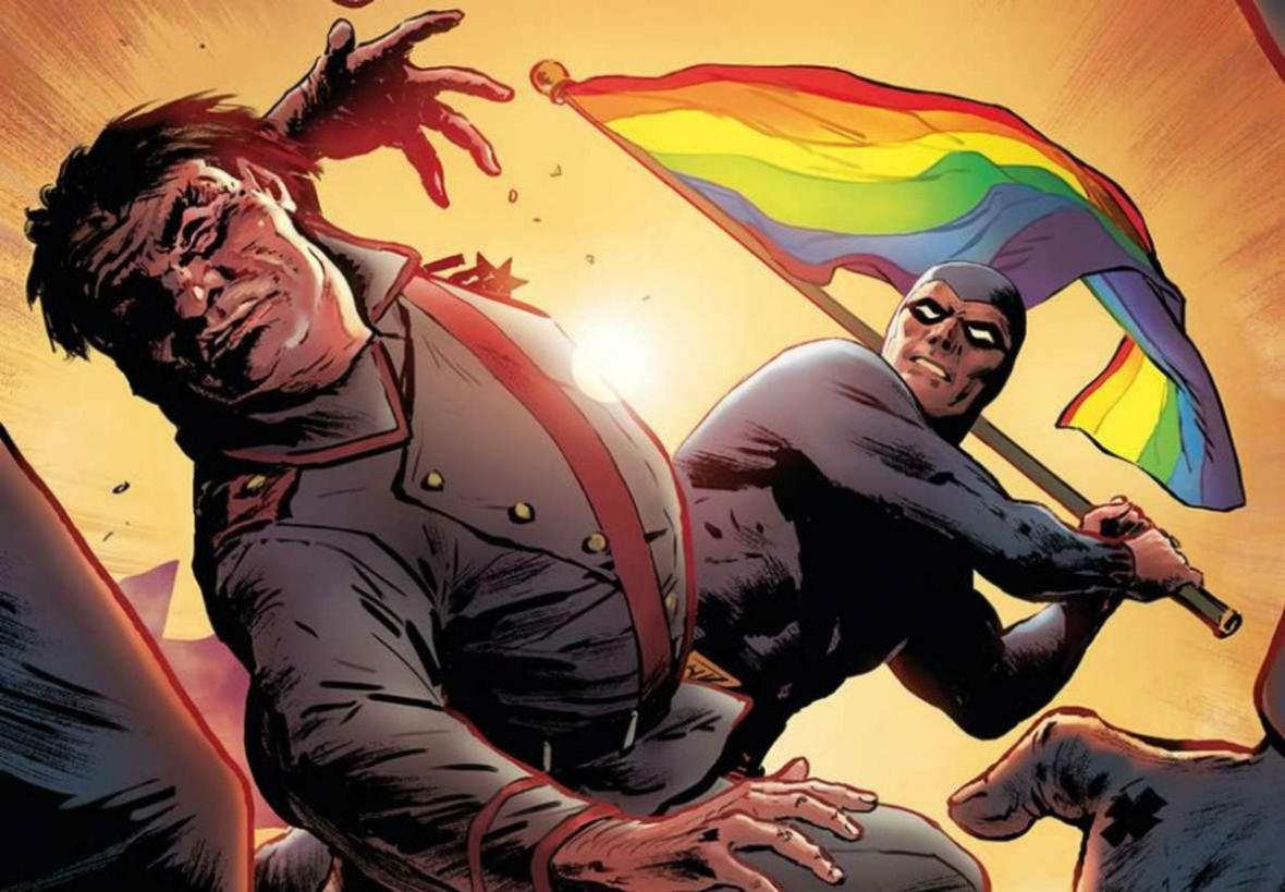 Poznajcie Fantomena – szwedzkiego superherosa, który robi porządek z polskimi nacjonalistami