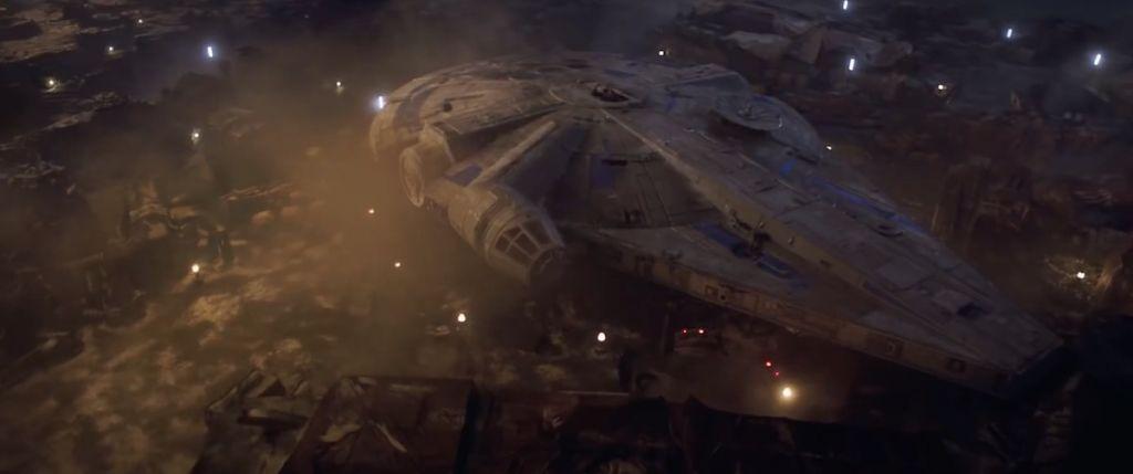 gwiezdne wojny han solo trailer 2 star wars 12 falcon