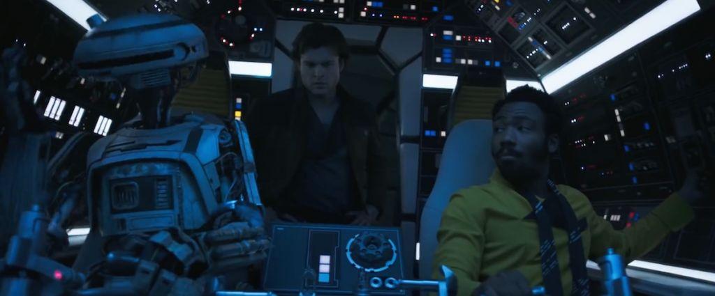gwiezdne wojny han solo trailer 2 star wars 13 falcon 3