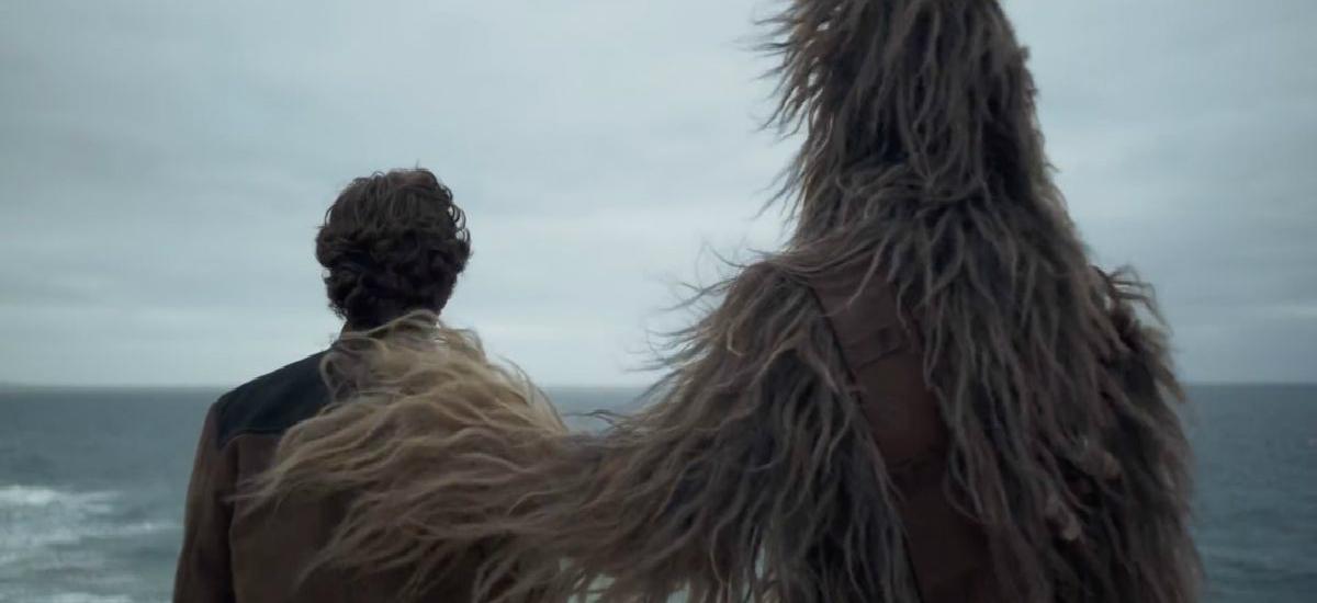 Han Solo i Chewbacca spot