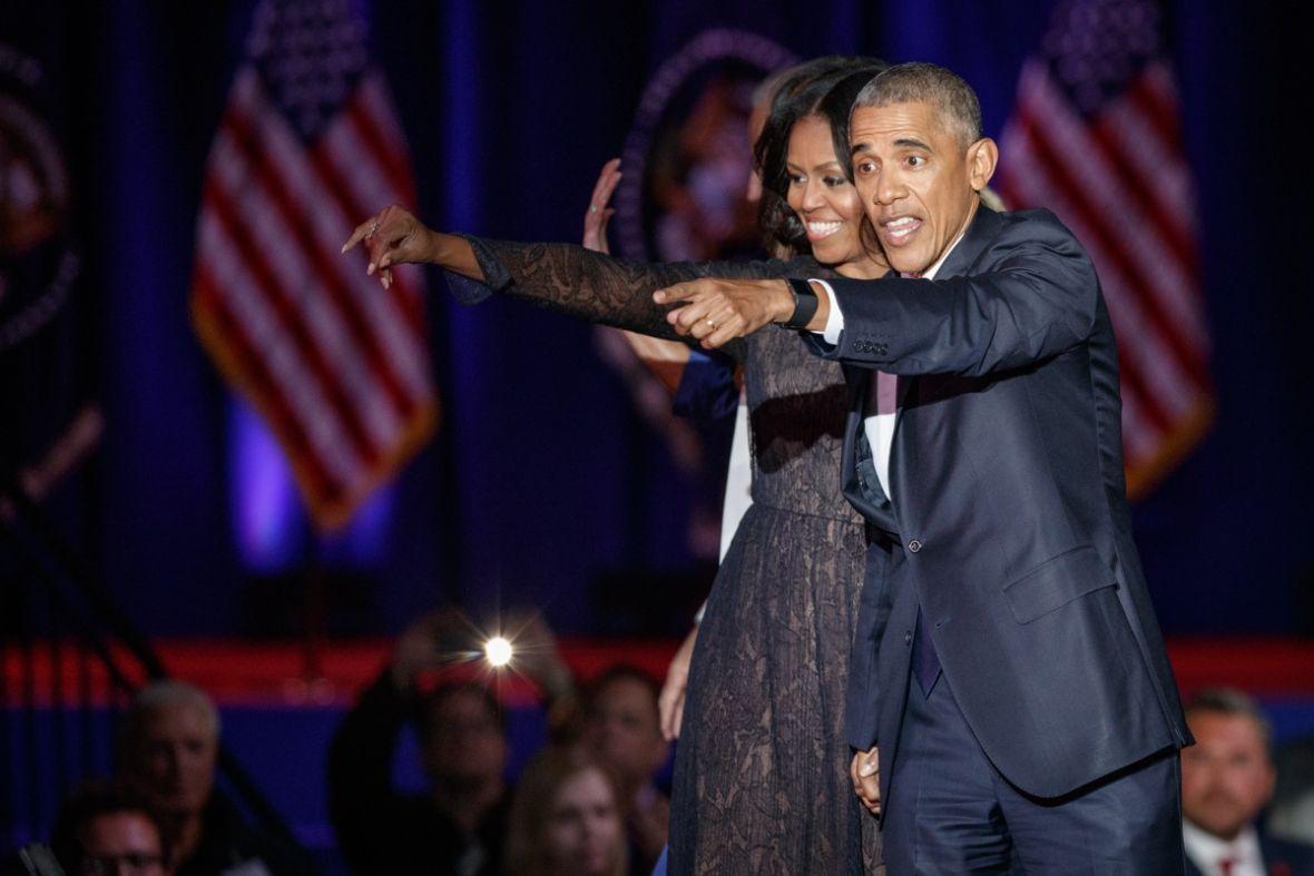 Michelle i Barack Obama ruszają na podbój świata rozrywki. Para dołączyła do Netfliksa