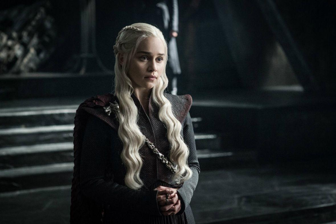 HBO boi się spoilerów. Serialowa Daenerys potwierdziła, że nikt nie wie, kto zasiądzie na Żelaznym Tronie