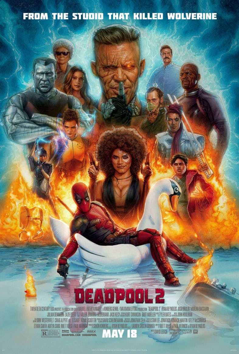 Deadpool 2 plakat