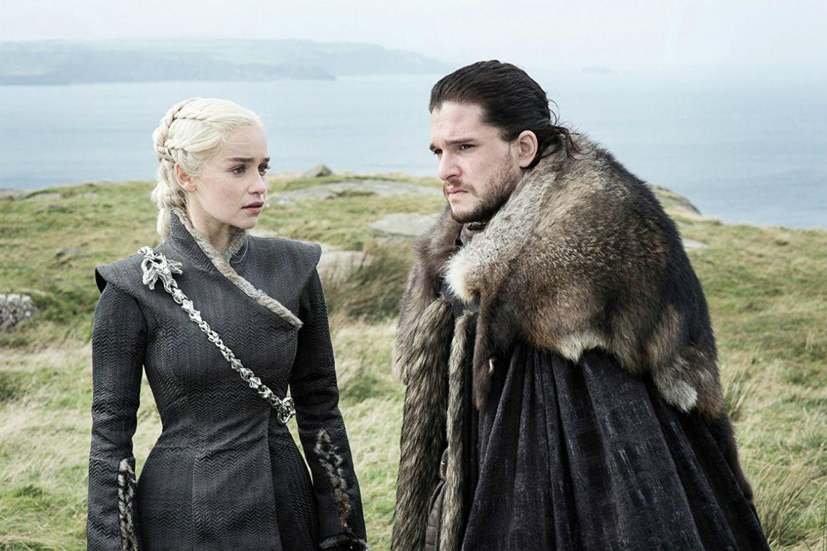 Daenerys i Jon Snow opowiadają o scenach seksu i trójkącie miłosnym w Grze o tron