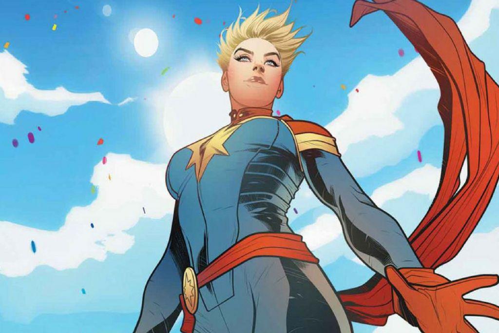 kapitan marvel komiks