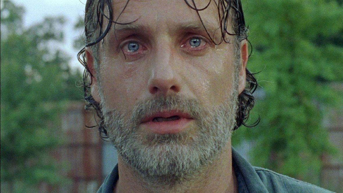 Pożegnanie na planie The Walking Dead. To koniec postaci Ricka?