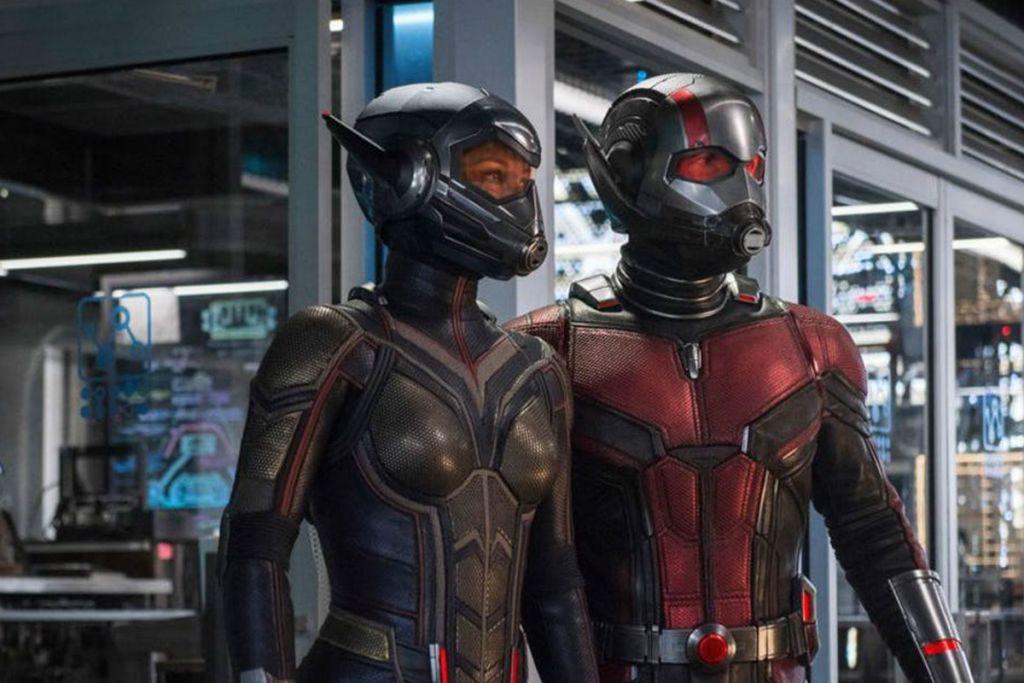 Ant-Man i Osa spot quantum realm