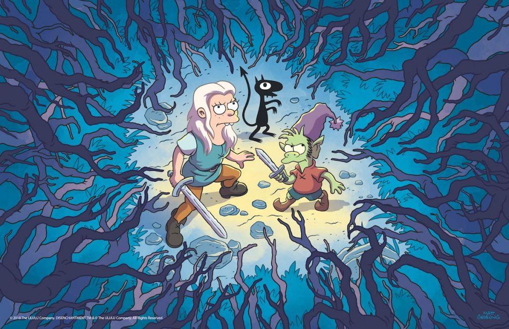 rozczarowani netflix disenchantment tylko dla doroslych serial animacja 2018 1
